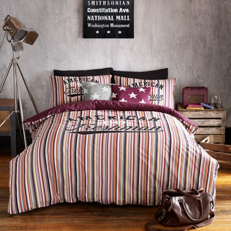 American Freshman Boston king quilt cover