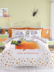 Roald Dahl James and the giant peach single duvet set