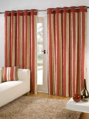 Sundour Sundour padstow curtains in red