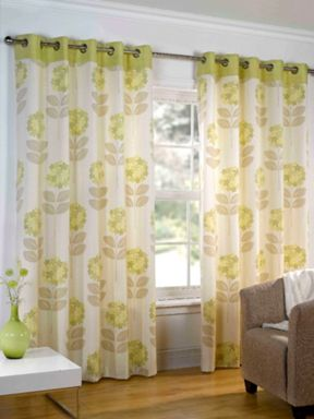 Sundour Sundour maisy curtains in green