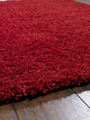 Origin Rugs Chicago Shaggy Red Rug Range