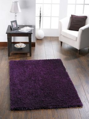 Origin Rugs Chicago Shaggy Purple Rug Range