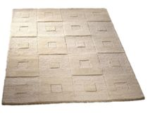 Manhatan Wool Rug Cream Range