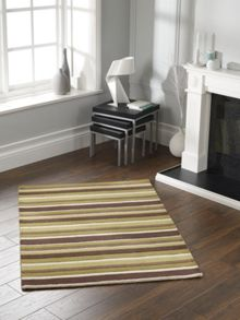Origin Rugs Carved Stirpes Wool Rug Green Range