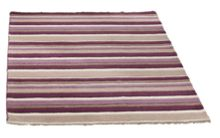 Carved Stirpes Wool Rug Grape Range