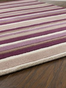 Origin Rugs Carved Stirpes Wool Rug Grape Range