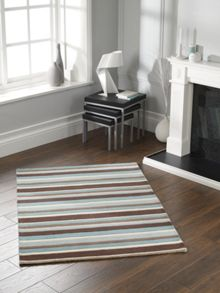 Origin Rugs Carved Stirpes Wool Rug SeaSpray Range