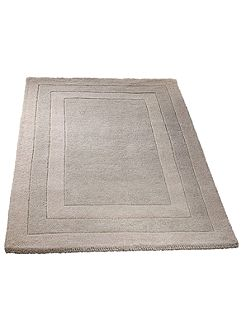 Origin Rugs Clayton border rug taupe 80x150