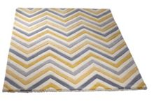 Origin Rugs Cabone Yellow Chevron Rug Range