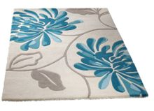 Origin Rugs Malia blue & cream floral rug range