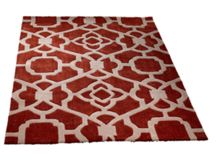 Marrakesh terracotta & cream rug range