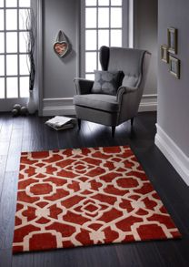 Origin Rugs Marrakesh terracotta & cream rug range