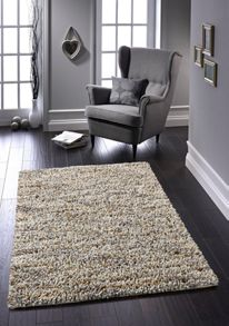 Origin Rugs Natural Rock Shaggy Rug Range