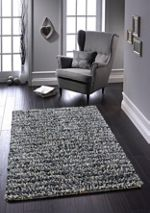 Origin Rugs Grey Rock Shaggy Rug 160/230