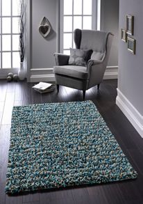 Origin Rugs Blue Rock Shaggy Rug Range