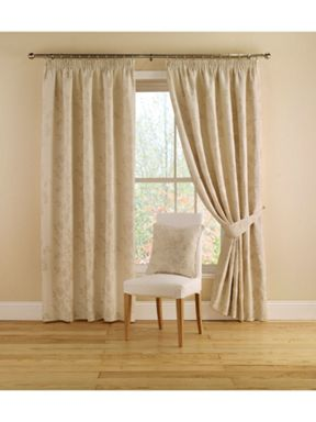 Montgomery Willow curtains in natural