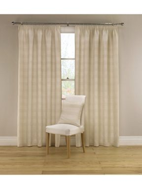Montgomery Abacus curtains in natural