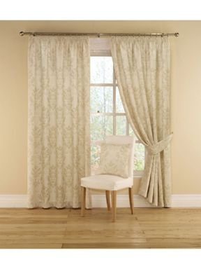 Montgomery Imperial curtains in natural