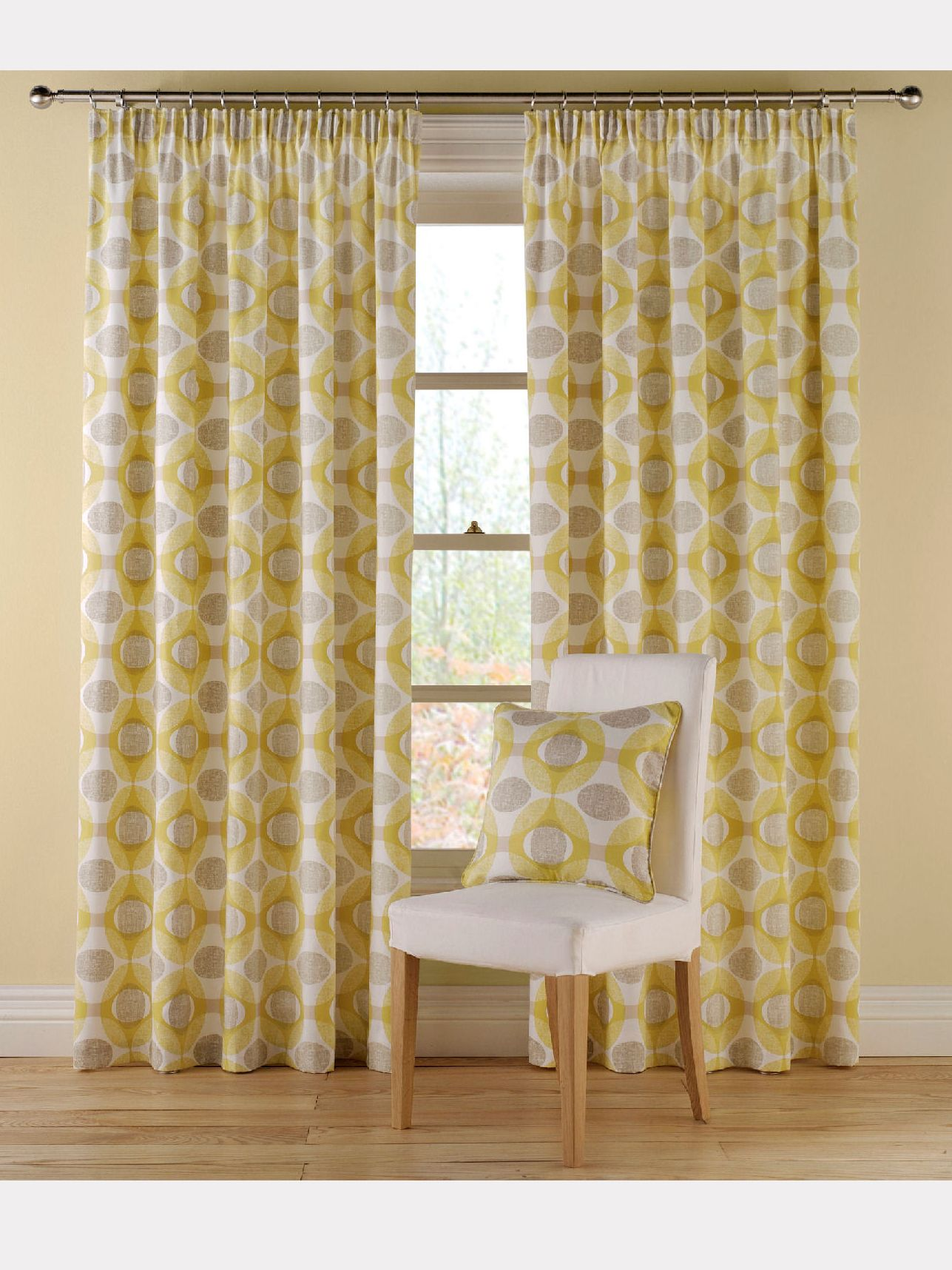 Olympic gold curtain range