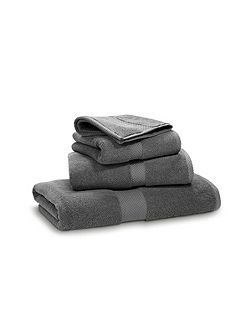 Avenue charcoal bath towel