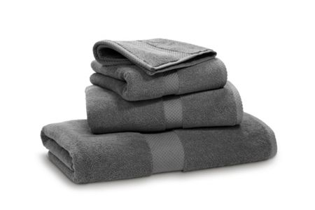 Ralph Lauren Home Avenue charcoal bath sheet