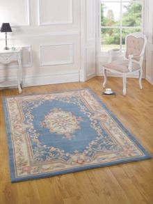 Flair Rugs Aubusson Blue Wool Rug Range