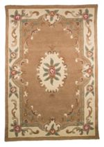Flair Rugs Aubusson beige rug 120x180