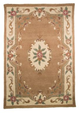 Flair Rugs Aubusson beige wool rug range