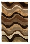 Flair Rugs Saria brown & taupe rug range