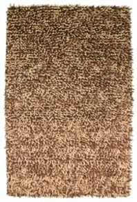 Kensington chocolate Shaggy Rug Range