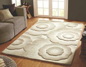 Flair Rugs Realm floral natural wool rug range