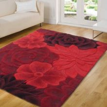 Flair Rugs Eden Red Rug Range