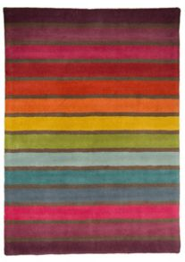 Candy Multi colour stripe rug range