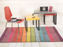 Flair Rugs Candy Multi colour stripe rug range