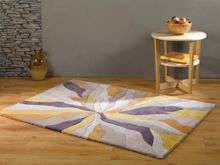 Flair Rugs Abstract ochre rug range