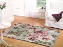 Flair Rugs Grace light blue floral rug range