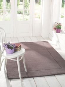 Flair Rugs Siena mauve wool rug range