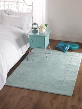Flair Rugs Siena duck egg wool rug range