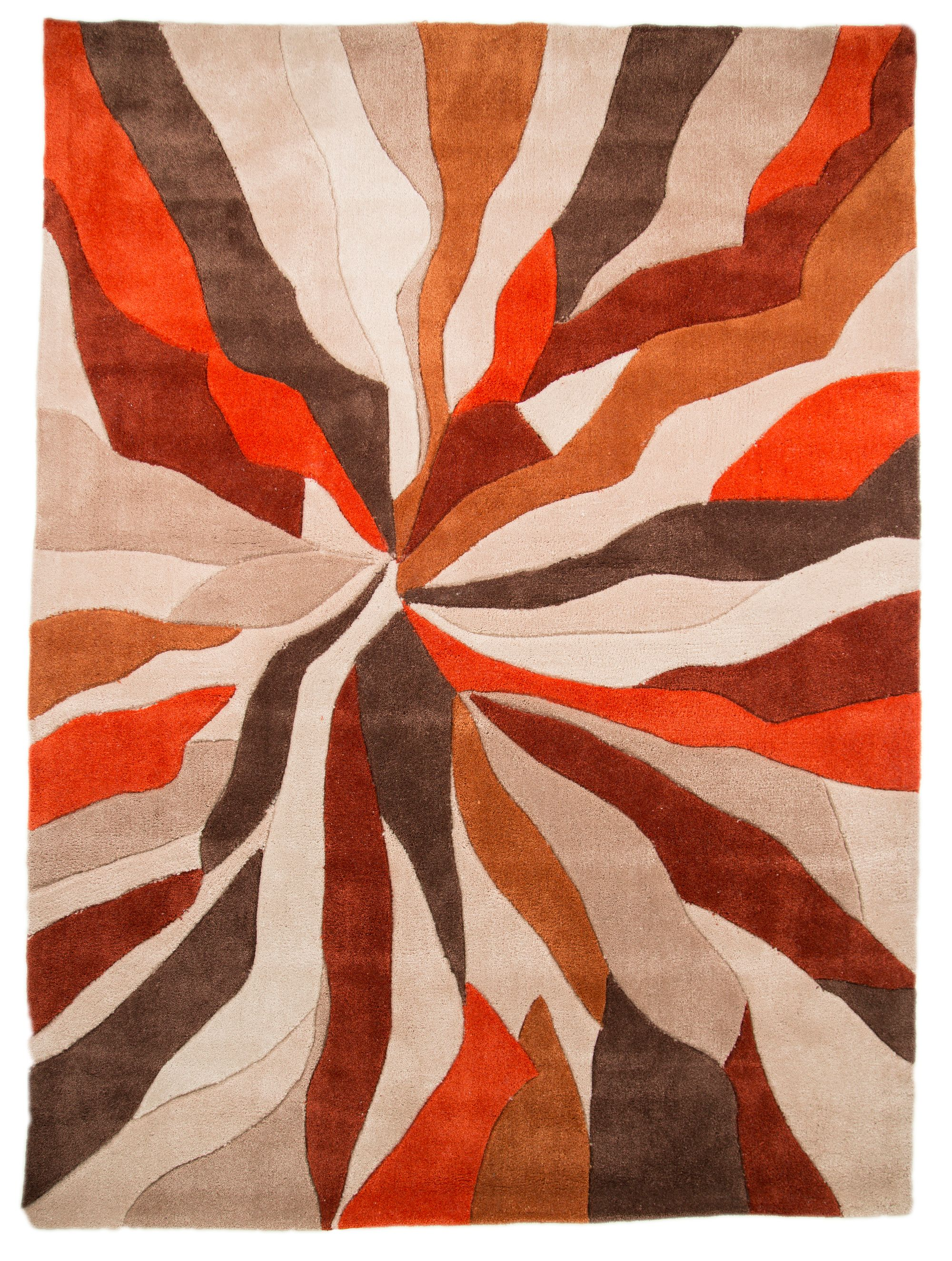 Flair Rugs Flair Rugs Abstract orange rug 160x230cm