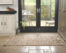 Flair Rugs Maya terracotta & green woven rug range
