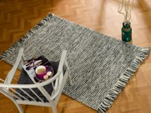 Flair Rugs Maya charcoal woven rug range