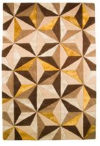 Flair Rugs Scorpio Natural/Ochre Rug 120X180