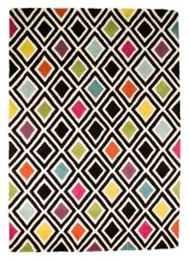 Flair Rugs Diamond multi colour rug range