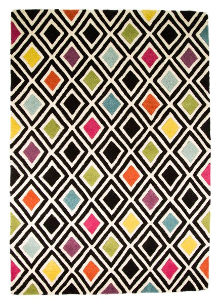 Flair Rugs Diamond Multi Rug 80X150
