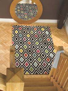 Diamond multi colour rug range