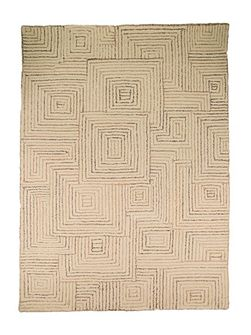 Maze Taupe Rug 160X230