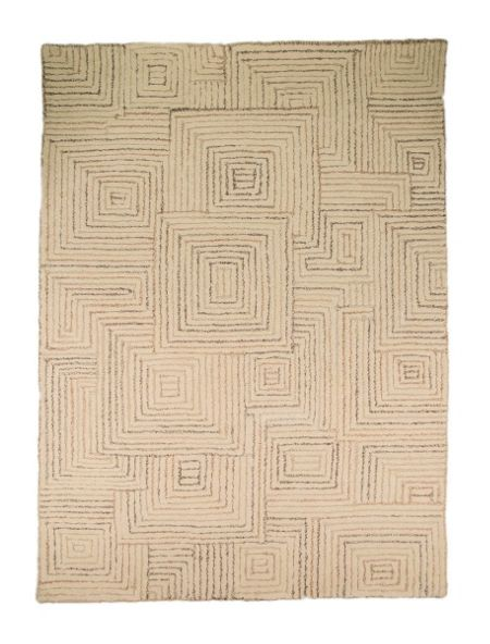 Flair Rugs Maze Taupe Rug 80X150