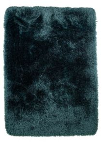 Flair Rugs Pearl teal shaggy rug range