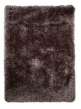 Flair Rugs Pearl Dark Grey Round Rug 150X150