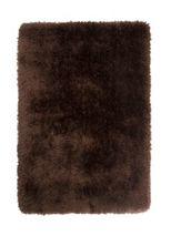Flair Rugs Pearl Chocolate Round Rug 150X150